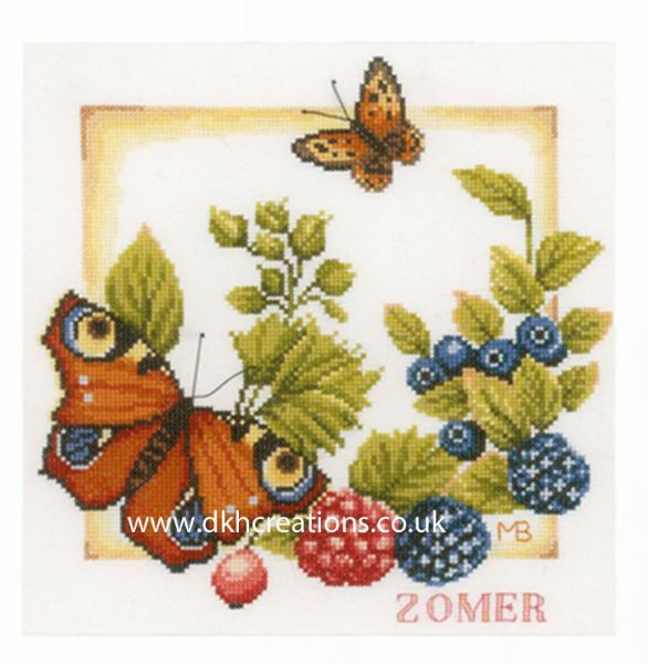 Summer Cross Stitch Kit